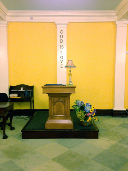 Sunday School Platform